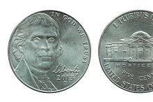 united states five cents coin