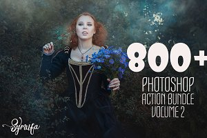 800 Photoshop Action Bundle 2