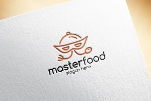 Master Food Logo Template