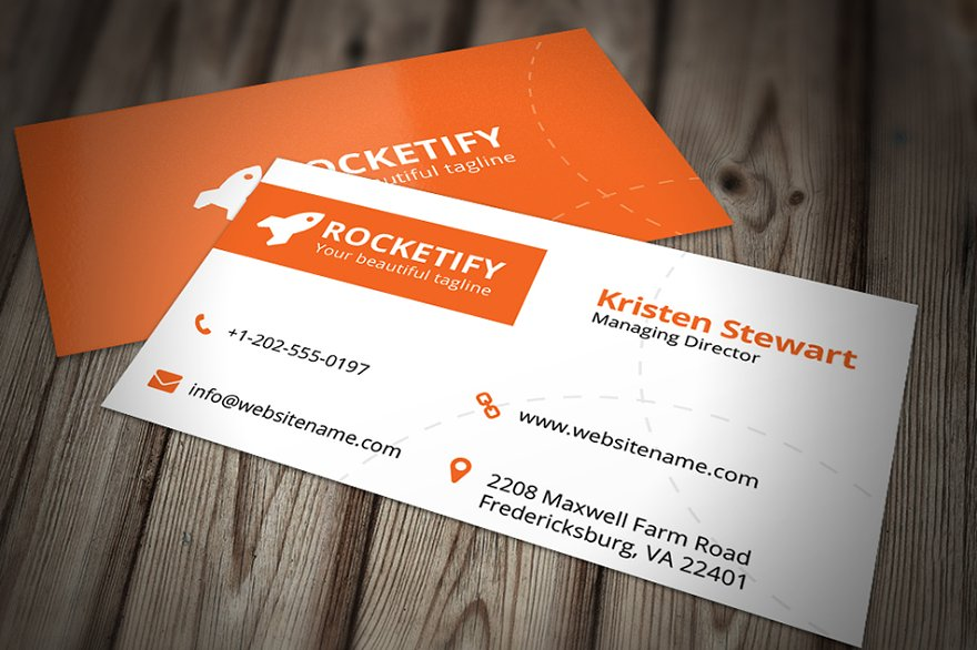 Minimal business card template business card templates creative simple business card template flashek Choice Image