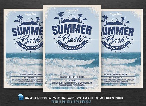 Summer Bash Flyer