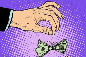 hand cash lure business Finance