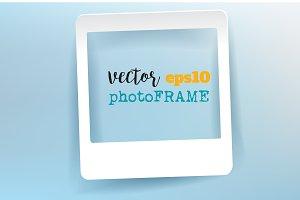 Vector Blank Frame