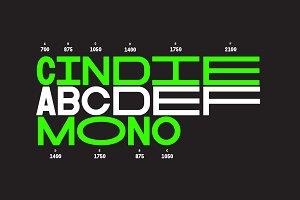 Cindie Mono Family