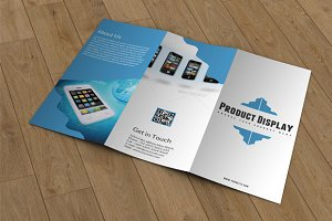 Product Display Trifold-V04