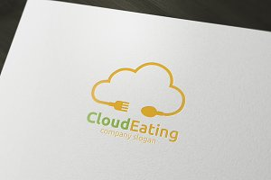 Cloud Eating Logo
