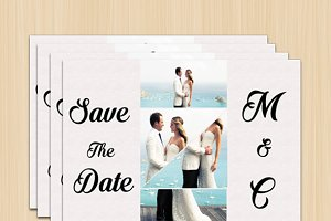 Modern Wedding Card 7