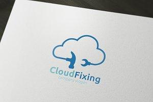 Cloud Fixing Logo