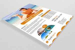 Travel Flyer Template-V08