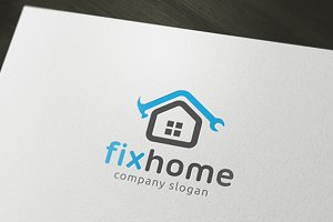 Fix Home Logo