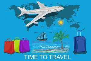 time to travel and vocation concept