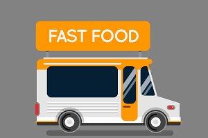 Food truck car