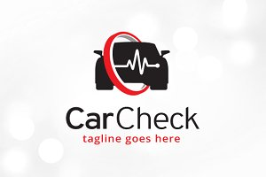 Car Check Logo Template