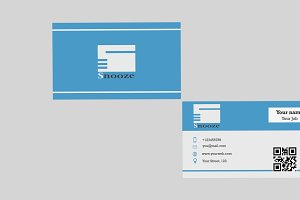 Smstric Business Card Template
