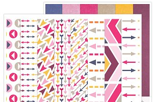 Funky Digital Pattern Papers