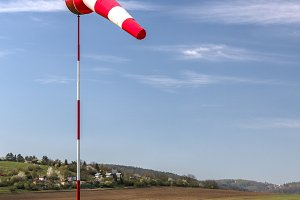 Windsocks wind direction indicator