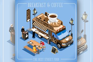 Espresso Breakfast Coffee Food Truck