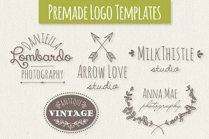 Cute Premade Logo Templates - Set 3