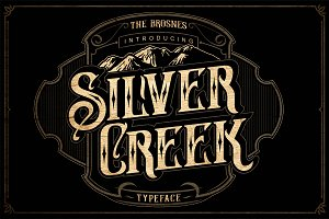 Silver Creek Typeface