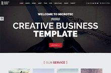 Microtec - Creative Agency Template
