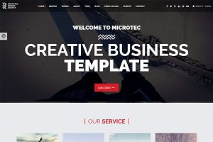 Microtec - Creative Agency Template