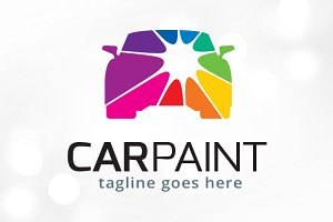 Car Paint Logo Template