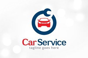 Car Service Logo Template