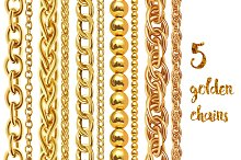 5 golden chains
