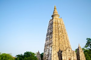 Mahabodhigaya temple in India