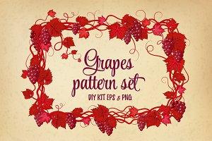 Vintage Grape DIY kit