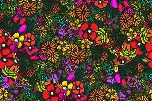 Colorful seamless vector pattern