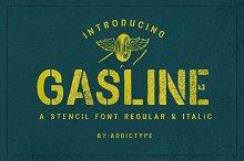 Gasline & extra Vector