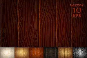 ♥ vector 7 Wooden textures
