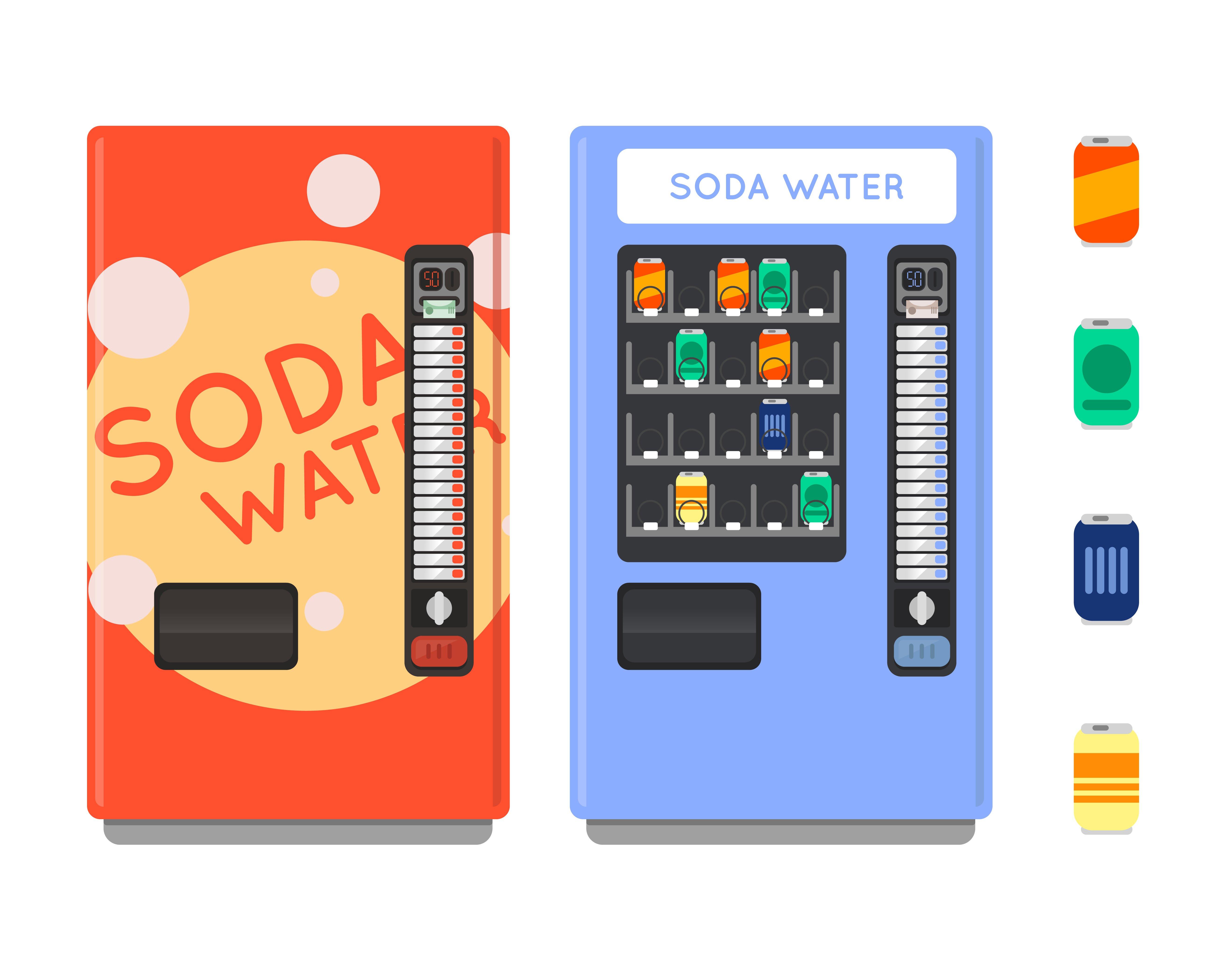 Vending machine ~ Objects ~ Creative Market
