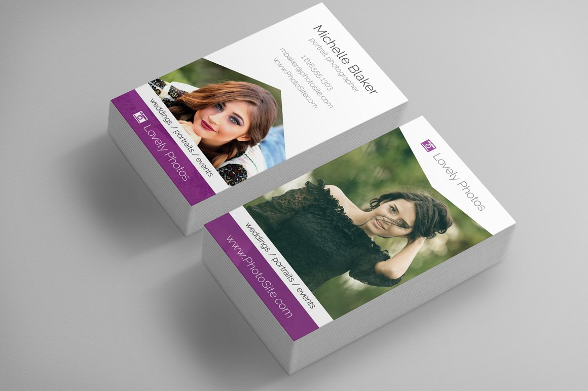 Photographer Business Card ~ Business Card Templates ~ Creative Market