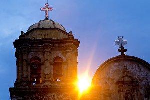 Tipical mexican Church