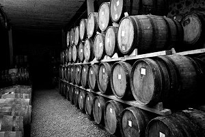 wine barels