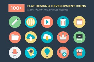 100+ Design and Development Icons