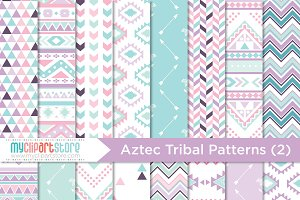 Tribal, Boho Digital Patterns (2)