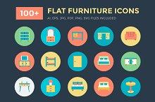 100+ Flat Furniture Icons