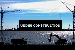 """""""Under construction"""" concept"""