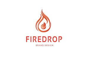 Fire Drop Logo