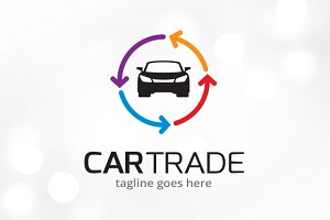 Car Trade Logo Template