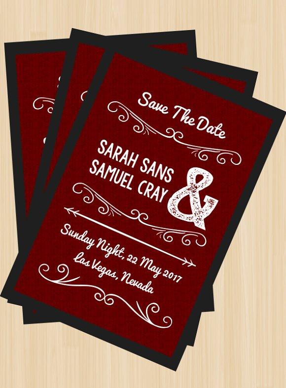 Sweet Wedding Invitation 3