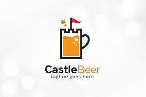Castle Beer Logo Template