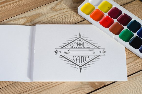Emblem (logo) Scout camp