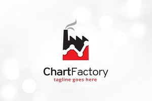Chart Factory Logo Template