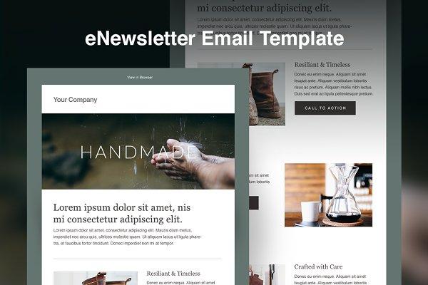 Responsive HTML eNewsletter Templat…