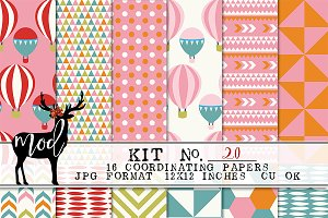 Background Paper Kit 20