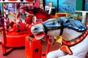 Mechanical Race Horses
